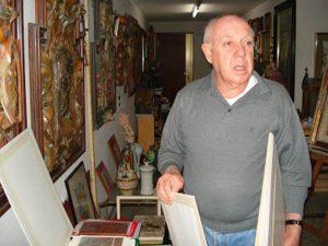 El escultor y pintor alicantino Remigio Soler ha fallecido hoy a la edad de 84 años en Alicante. Soler