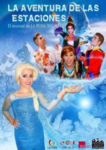 El musical de LA REINA DEL HIELO en el Gran Teatro de Elche