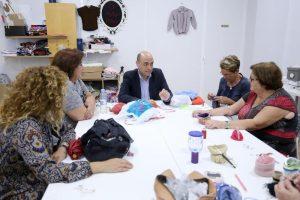 El alcalde de Alicante visita el barrio de la Florida
