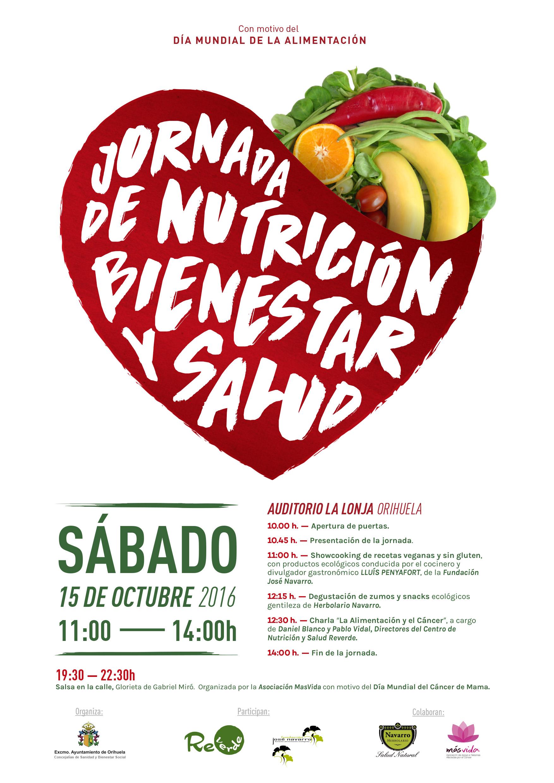 Orihuela Celebra El Sabado Una Jornada De Nutricion Bienestar Y Salud Para Celebrar El Dia Mundial De La Alimentacion Alicantehoy