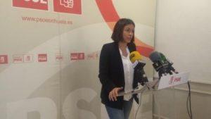 La portavoz socialista Carolina Gracia