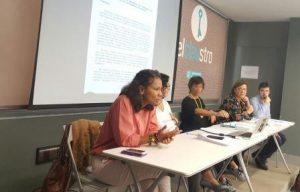 La concejala de Acción Social,Julia Anguloha celebradouna reunión de trabajo