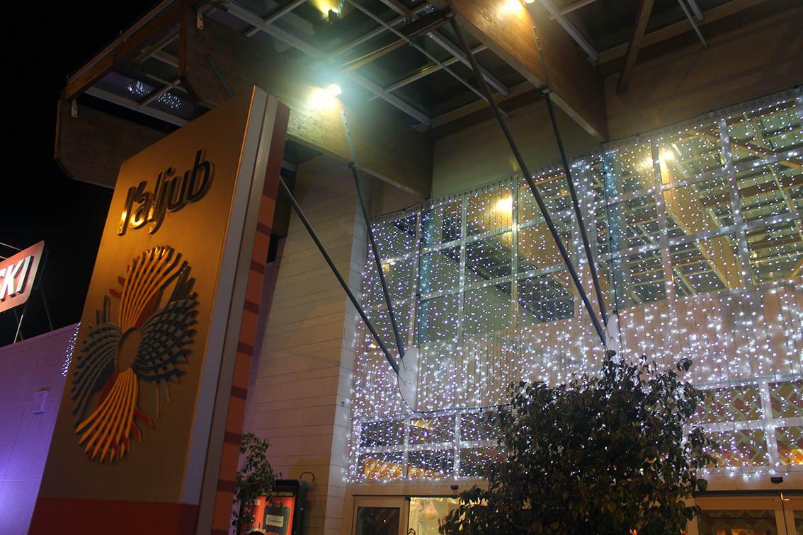La navidad llega a l aljub con el encendido de luces - Luces exterior navidad ...