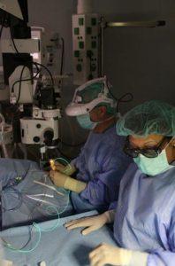 Cirugía 3D Oftalmología