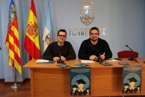 El concejal de Juventud, Víctor Ferrández, y el Coordinador de la Sede de la Universidad de Alicante en Torrevieja, José Norberto Mazón