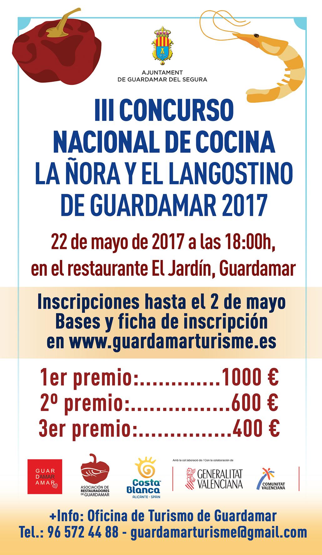 3er concurso nacional de cocina de la ora y el langostino - Concurso de cocina ...