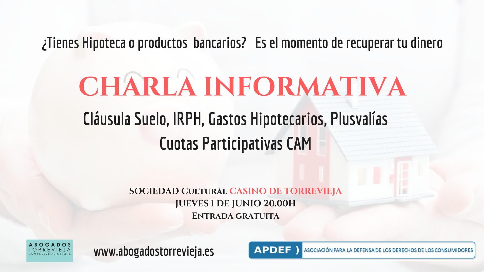 Apdef Ofrecer En Torrevieja Una Charla Informativa Sobre