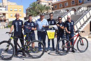 """Diez agentes de la Policía Local de Guardamar del Segura participarán este sábado en el XX campeonato nacional de Mountain Bike """"Ciudad de Puerto Lumbreras"""""""