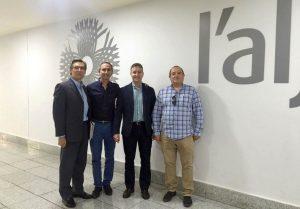 L'Aljub y la Fundación Proyecto Pusol firman un convenio para promover el 'Camp d'Elx'