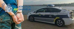 La Policía Local de Orihuela encuentra a unos ladrones gracias a una aplicación de geolocalización instalada en un teléfono sustraído