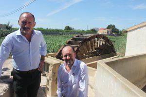 El Ayuntamiento de Orihuela obtiene la cesión de las Norias Gemelas para proceder a su recuperación