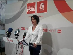 Portavoz  socialista Carolina Gracia