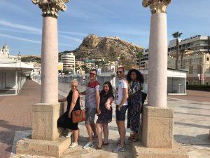 Diversos medios de prensa británicos disfrutan de un Press Trip en la ciudad para conocer los atractivos turísticos de Alicante