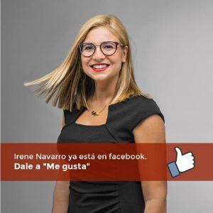 Irene Navarro, Alcaldesa de Petrer, Facebook