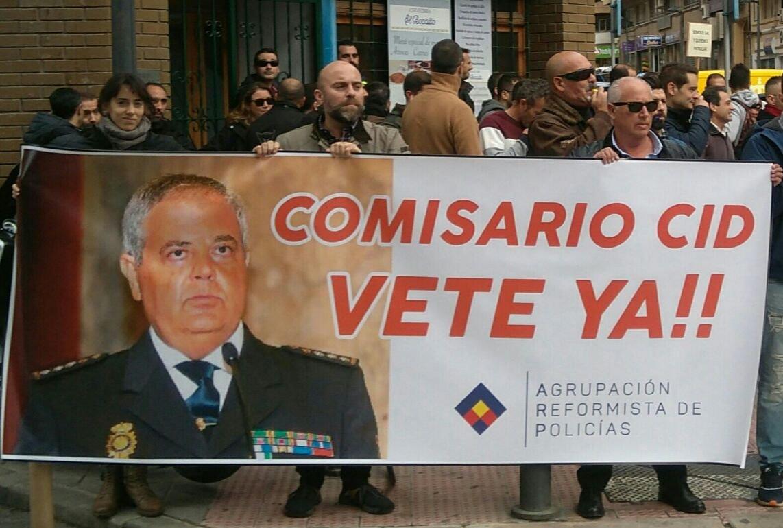 Agrupación Reformista de Policías, nuestra petición de cese del Comisario Cid, es una obligación sindical justificada