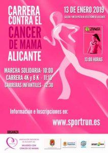 carrera solidaria cáncer de mama