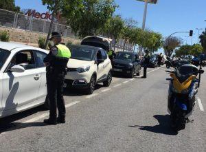 La Policía Local pone en marcha un dispositivo especial con medios millar de agentes todo el puente del 1 de mayo en Alicante