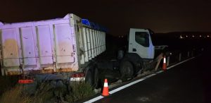 accidente camión