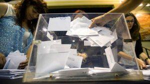 Elecciones anticipadas